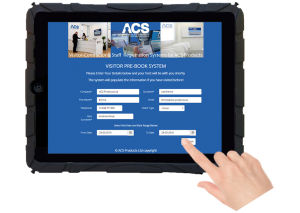 ACS-iVisitor-Pre-Booking-System