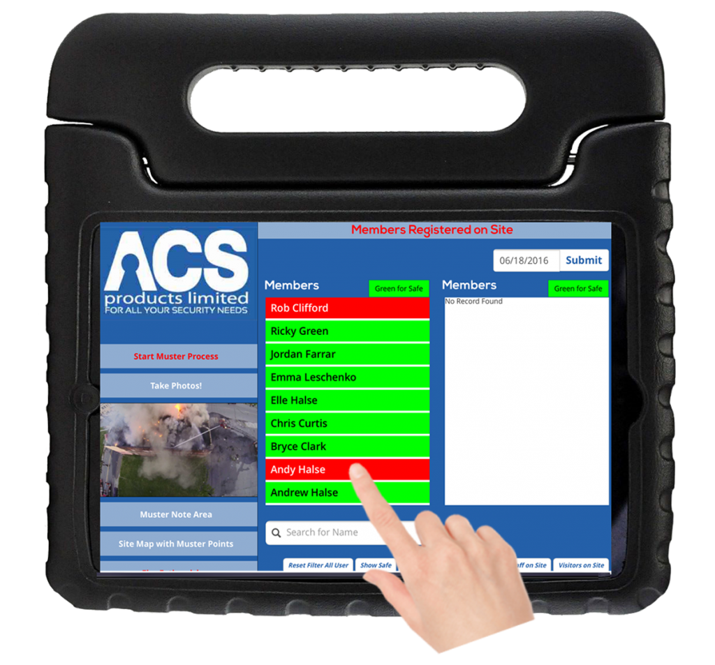 acs-imuster-Powerful-Muster-Emergency-Evacuation-tool